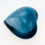 London Blue Topaz 123.29 CT 31X32X15.5 MM Heart Shape Cabochons