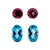 Beautiful Matching Earring Set of Natural Apatite & Natural Rubellite - shoprmcgems