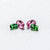 Beautiful Matching Earring Set of Pink Tourmaline & Chrome Tourmaline - shoprmcgems