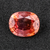 Sparkling Rich Orange Padparadscha Sapphire 5.78 Cts. 12x10x5.30 mm Cushion - shoprmcgems
