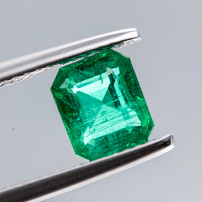 Unheated Natural Emerald 1.26 CT 7.3X6X4 MM Octagon - shoprmcgems