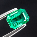 Natural Emerald 1.12 CT Octagon Shape 7.3X5.2X4 MM - shoprmcgems