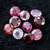 AMAZING NICE COLOR Multi Spinal Lot 9.10 Ct Round Mix