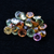 Natural Multi Sapphire 10.16 ct 5.00 MM Round Rose Cut