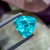 Stunning Natural Paraiba Tourmaline 2.27 CT 9 MM Trillion Cut