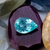 Paraiba Tourmaline 2.03 CT 10.5X7.5 MM Pear Cut Checkerboard