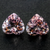WOW MIND BOGGLING TOP RICH Natural PINK MORGANITE Pair 16.17 CT 13.3X14 MM Heart Shape