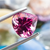 Shining Loupe Clean Pink Tourmaline 3.96 CT 10 MM Heart Shape - shoprmcgems