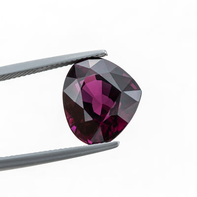 Rhodolite Natural 14.35 CT 13X15X9.6 MM Heart Cut Beautiful Color - shoprmcgems