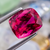 Natural Rubellite Tourmaline From Brazil 4.95 CT Cushion 10.6X8.8X6.8 MM