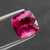 NATURAL RUBELLITE TOURMALINE FROM BRAZIL 4.09 CT Cushion 9.5 MM - shoprmcgems