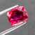 Natural Rubellite Tourmaline From Brazil 4.67 CT Cushion 10.8X9.1X6 MM