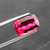 Natural Rubellite Tourmaline From Brazil 4.13 CT Cushion 12.4X8.4X5 MM