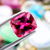 Natural Rubellite Tourmaline From Brazil 3.80 CT Cushion 10.1X8.8X6 MM - shoprmcgems