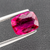 Natural Rubellite Tourmaline From Brazil 3.43 CT Cushion 11X8.5X4.8 MM