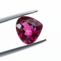 Natural Rubellite Tourmaline From Brazil 3.23 CT Heart Shape 9X9.7X6 MM