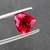 Natural Rubellite Tourmaline From Brazil 3.95 CT Heart Shape 10x10.5x7 MM