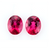 Matching Pair Rubellite 4.98 CT Oval Shape 10X8 MM Pair