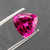 Natural Rubellite Tourmaline From Brazil 3.42 CT Trillion 10 MM