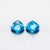 Beautiful Pair of Natural Swiss Blue Topaz Heart shape 11MM 12.27 CT - shoprmcgems