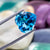 ShiningNatural Swiss Blue Topaz 10.98 CT 14 MM Heart Shape - shoprmcgems