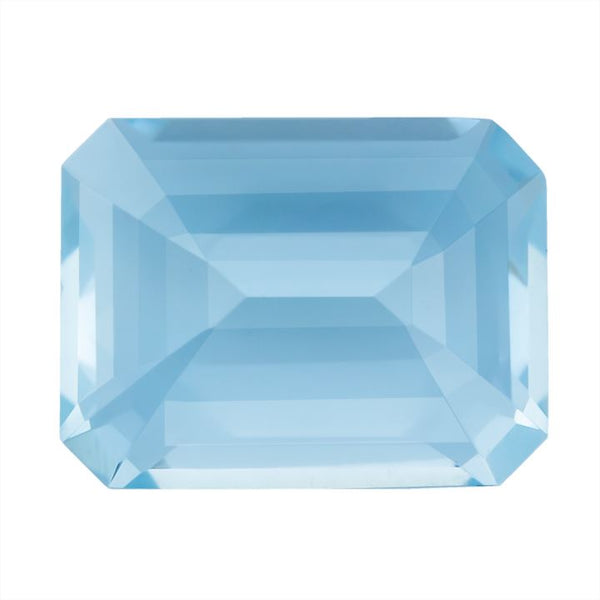 Aquamarine 5.81 CT 12.7x9.8 MM Octagon. - shoprmcgems