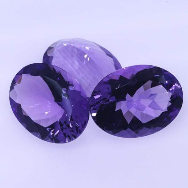 Brazilian Amethyst 20X15 MM Oval - shoprmcgems