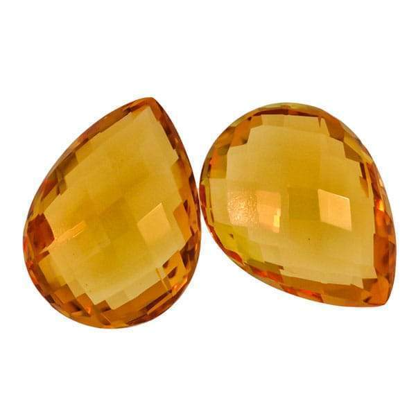 Citrine 33.45 CT 20x15 MM Pear - shoprmcgems