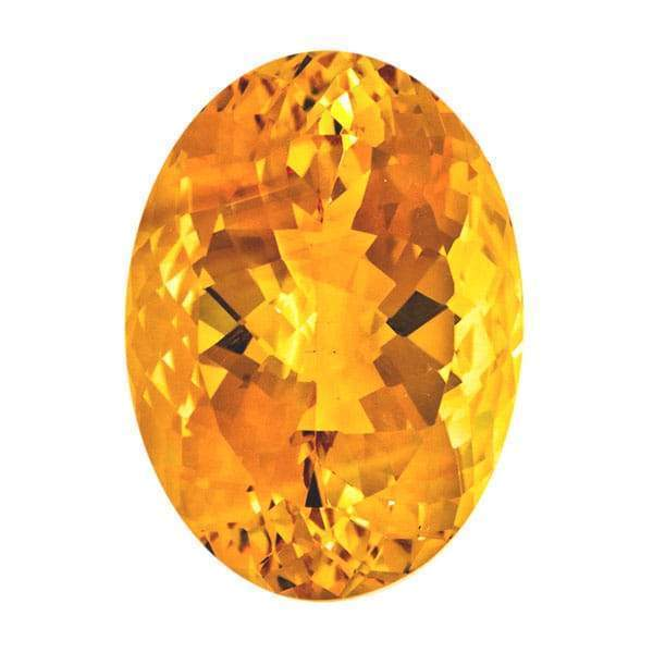 Citrine 45.73CT Oval - shoprmcgems