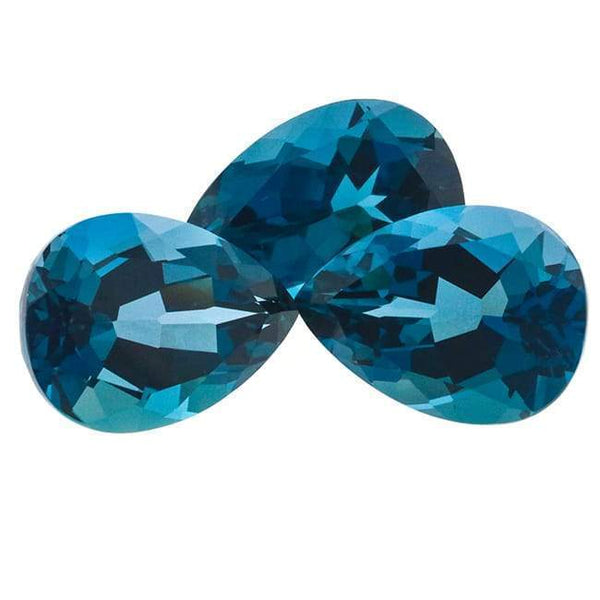 London Blue Topaz 42.00 CT 18X13 MM Pear - shoprmcgems