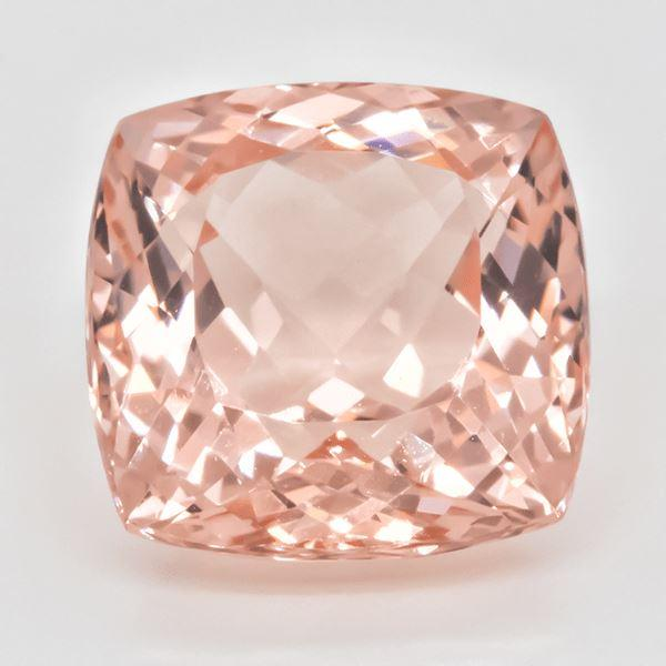 Morganite 5.65 CT 11 MM Cushion Gemstones RMCGEMS