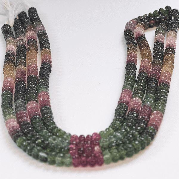 Multi Tourmaline 673.20 CT 7.00 MM Beads - shoprmcgems