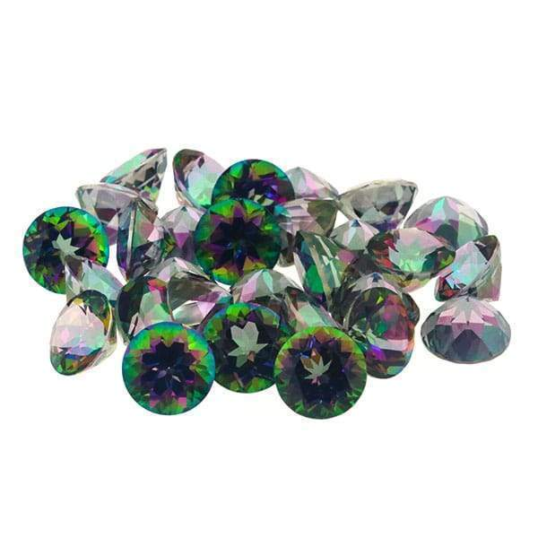 Mystic Topaz 95.17 CT 9 MM Round - shoprmcgems