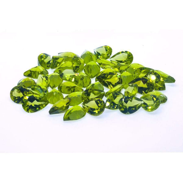 Peridot 55.05ct 9X6mm Pear - shoprmcgems