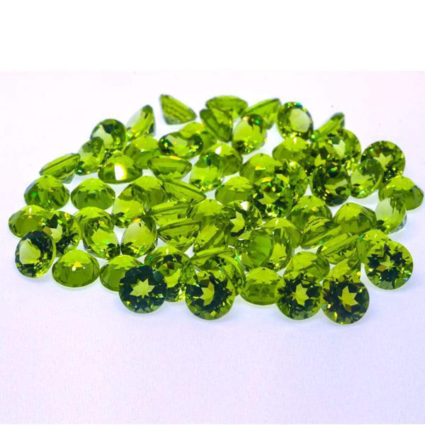 Peridot 65.60ct 6mm Round - shoprmcgems