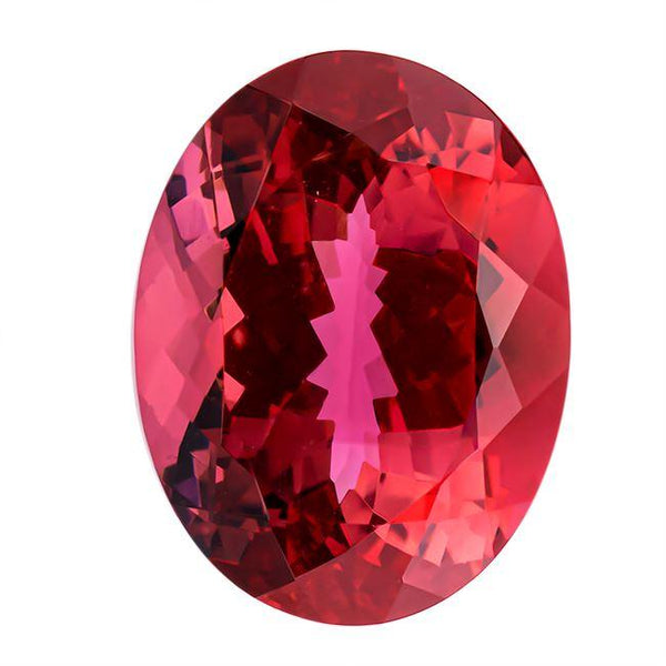 Pink Tourmaline 15.75 CT 17.90x13.60 MM Oval Gemstones RMCGEMS