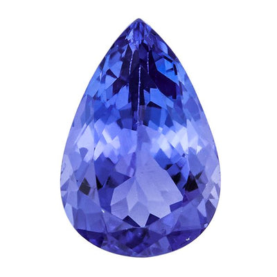 Tanzanite AA 1.57ct 9X6mm Beautiful Pear Shape - shoprmcgems