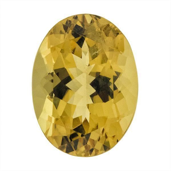 Yellow Beryl 15.00 CT 19x14 MM Oval - shoprmcgems