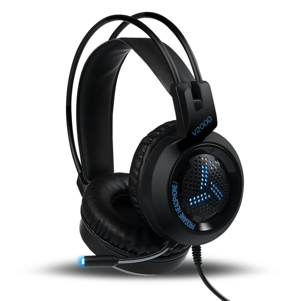 3.5mm Jack Bass Stereo Sound Gaming Headset With Mic