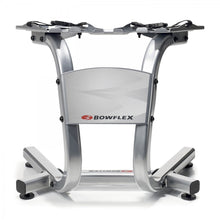 Load image into Gallery viewer, Bowflex  SelectTech Metal Dumbbell Stand with Built-in Towel Rack, Silver