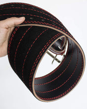 Load image into Gallery viewer, Genuine Leather Weightlifting Belt