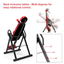 Load image into Gallery viewer, Gravity Heavy Duty Inversion Table with Headrest & Adjustable Protective Belt