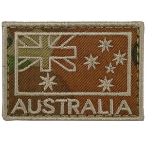 Australia Flag Embroidered Patch - Auscam