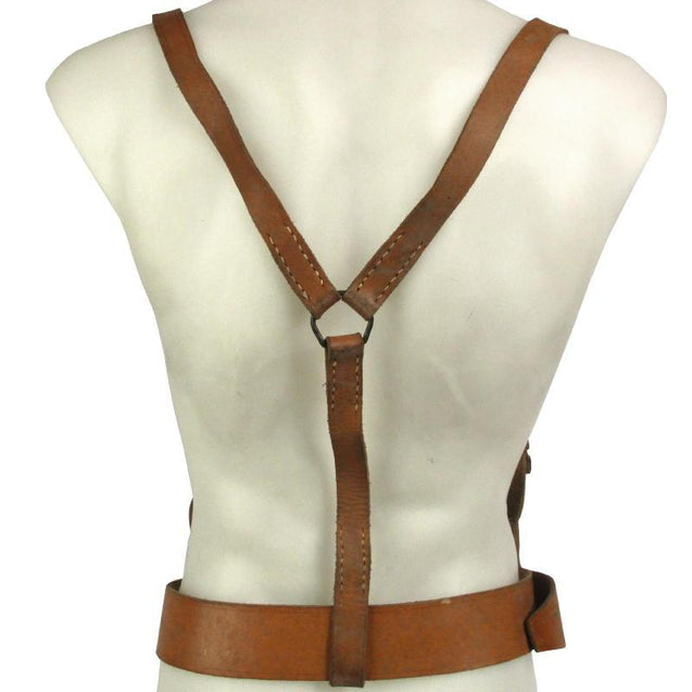 Serbian Leather Belt and Yoke