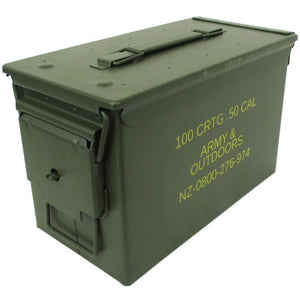 50 Cal Lockable Ammo Box