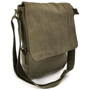 Vintage Canvas Military Tech Bag