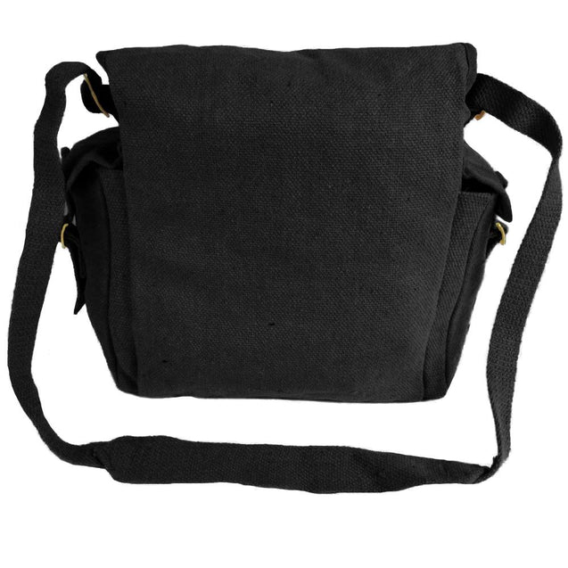 Canvas Haversack - Black