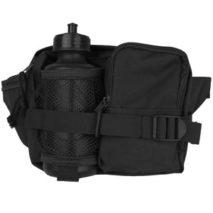 Waist Pack With Bottle - Black