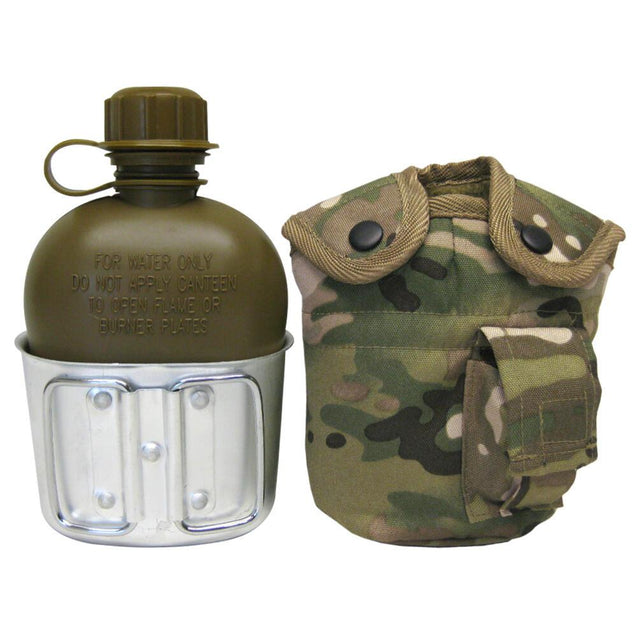 US Style Multicam Canteen Set