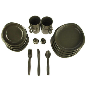 Dinnerware Camp Set - 26 Piece